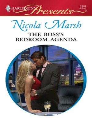 cover image of The Boss's Bedroom Agenda