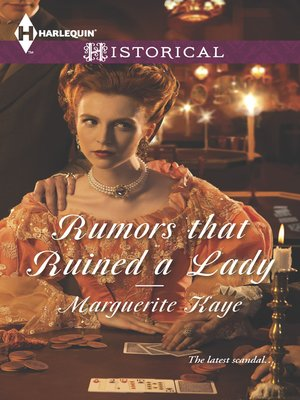 cover image of Rumors that Ruined a Lady