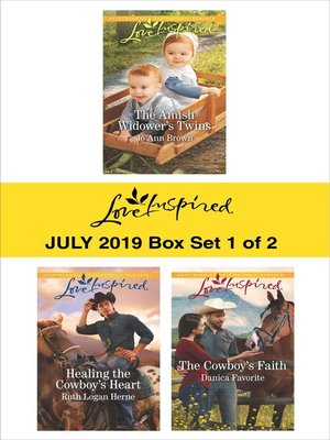 cover image of Harlequin Love Inspired July 2019, Box Set 1 of 2