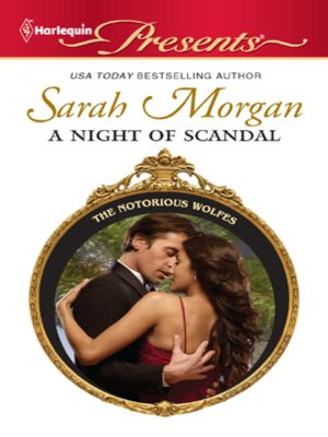 cover image of A Night of Scandal