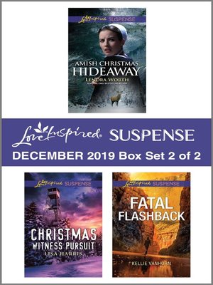 cover image of Harlequin Love Inspired Suspense December 2019--Box Set 2 of 2