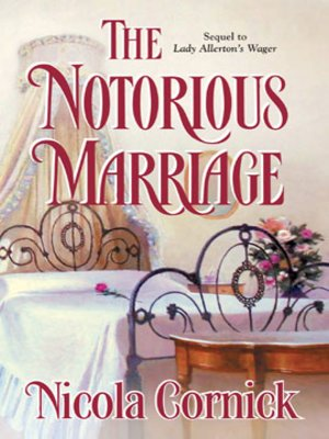 cover image of The Notorious Marriage