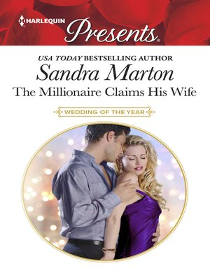 cover image of The Millionaire Claims His Wife