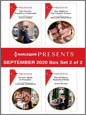 cover image of Harlequin Presents--September 2020--Box Set 2 of 2