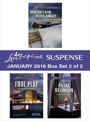 cover image of Love Inspired Suspense January 2016, Box Set 2 of 2