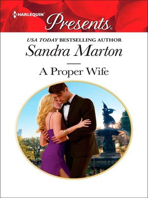 cover image of A Proper Wife