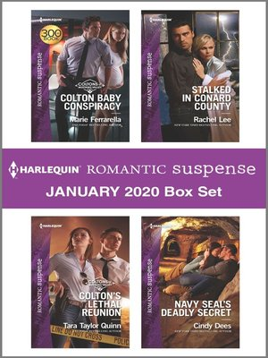 cover image of Harlequin Romantic Suspense January 2020 Box Set