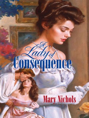 cover image of A Lady of Consequence