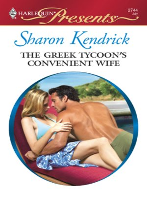 cover image of The Greek Tycoon's Convenient Wife