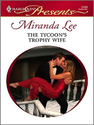 cover image of Tycoon's Trophy Wife
