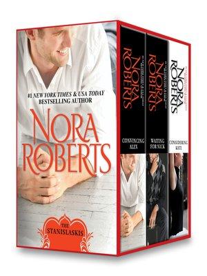 cover image of Nora Roberts Stanislaskis Series, Books 4-6