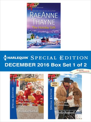 cover image of Harlequin Special Edition December 2016, Box Set 1 of 2
