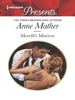 cover image of Morelli's Mistress
