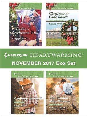 cover image of Harlequin Heartwarming November 2017 Box Set
