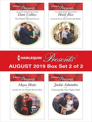 cover image of Harlequin Presents, August 2019, Box Set 2 of 2