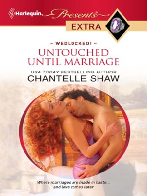 cover image of Untouched Until Marriage