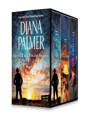 cover image of Diana Palmer Long, Tall Texans Series, Books 7-9