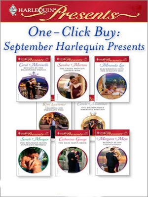 cover image of September Harlequin Presents