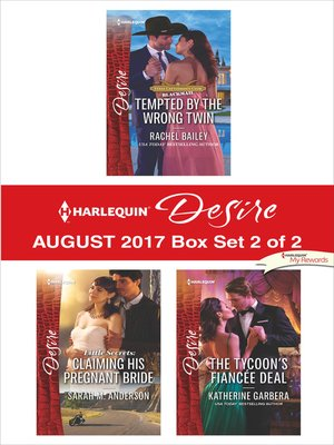 cover image of Harlequin Desire August 2017--Box Set 2 of 2