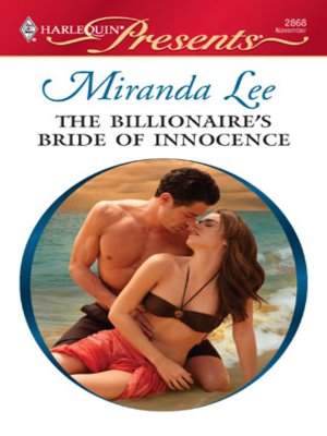 cover image of Billionaire's Bride of Innocence