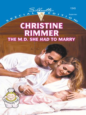 cover image of The M.D. She Had To Marry