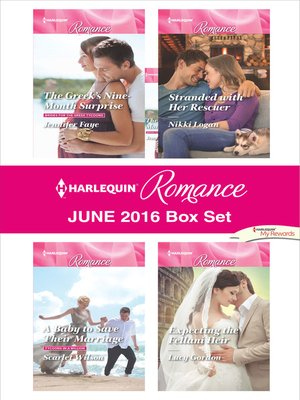 cover image of Harlequin Romance June 2016 Box Set