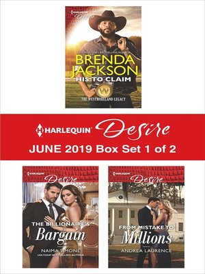 cover image of Harlequin Desire June 2019, Box Set 1 of 2