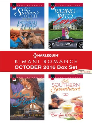 cover image of Harlequin Kimani Romance October 2016 Box Set