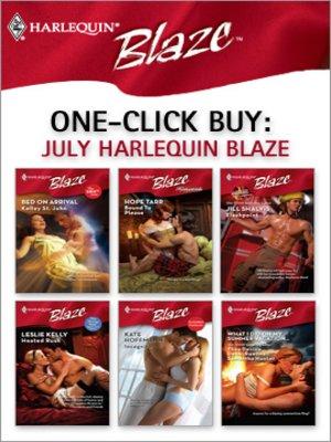 cover image of July Harlequin Blaze