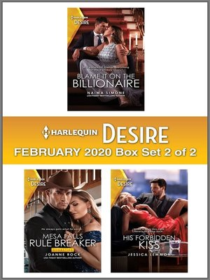 cover image of Harlequin Desire February 2020--Box Set 2 of 2
