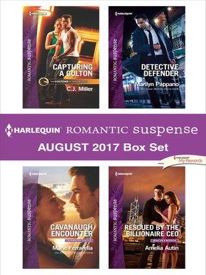 cover image of Harlequin Romantic Suspense August 2017 Box Set