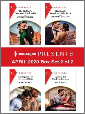 cover image of Harlequin Presents--April 2020--Box Set 2 of 2