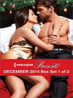 cover image of Harlequin Presents December 2014 - Box Set 1 of 2: Christmas in Da Conti's Bed\Heiress's Defiance\A Rule Worth Breaking\The Magnate's Manifesto