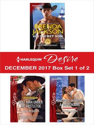 cover image of Harlequin Desire December 2017--Box Set 1 of 2
