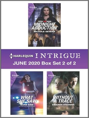 cover image of Harlequin Intrigue June 2020--Box Set 2 of 2