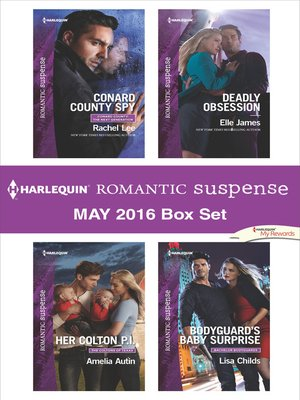 cover image of Harlequin Romantic Suspense May 2016 Box Set