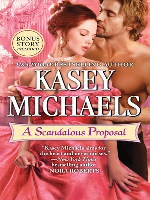 cover image of A Scandalous Proposal