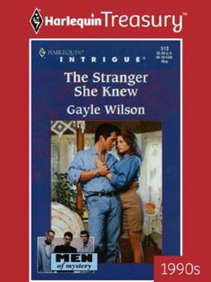 cover image of The Stranger She Knew