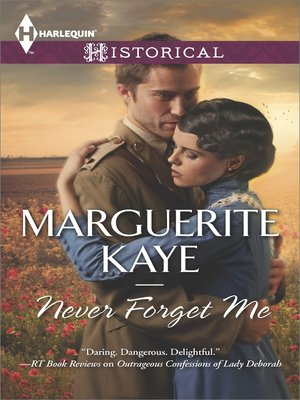 cover image of Never Forget Me