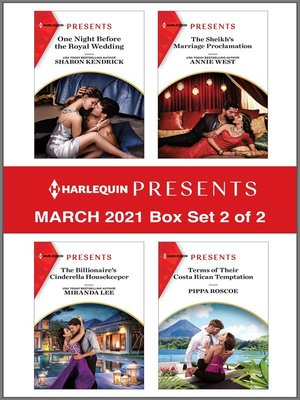 cover image of Harlequin Presents--March 2021--Box Set 2 of 2