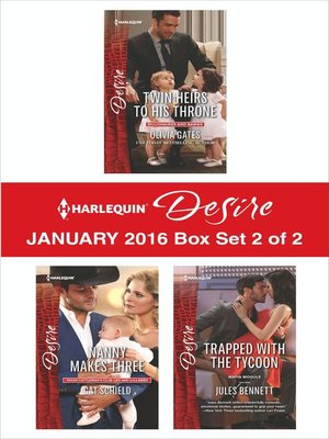 cover image of Harlequin Desire January 2016, Box Set 2 of 2