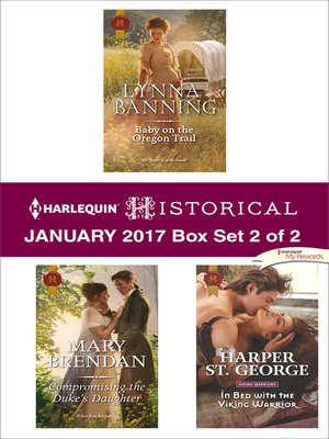 cover image of Harlequin Historical January 2017--Box Set 2 of 2