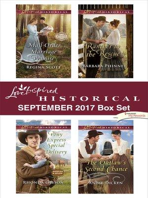 cover image of Love Inspired Historical September 2017 Box Set