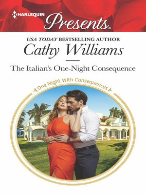 cover image of The Italian's One-Night Consequence