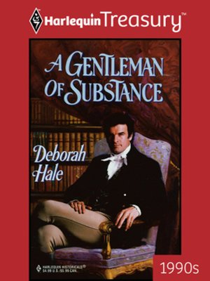 cover image of A Gentleman of Substance