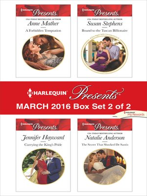 cover image of Harlequin Presents March 2016--Box Set 2 of 2