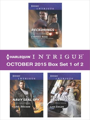 cover image of Harlequin Intrigue October 2015, Box Set 1 of 2