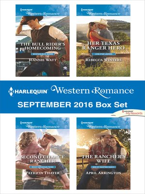 cover image of Harlequin Western Romance September 2016 Box Set