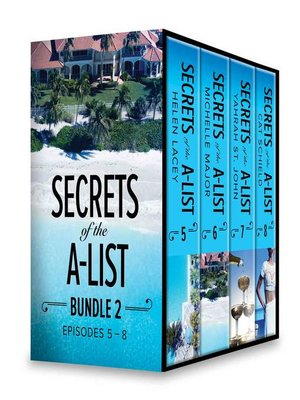 cover image of Secrets of the A-List Box Set, Volume 2--Secrets of the A-List (Episode 5 of 12)\Secrets of the A-List (Episode 6 of 12)\Secrets of the A-List (Episode 7 of 12)\Secrets of the A-List (Episode 8 of 12)