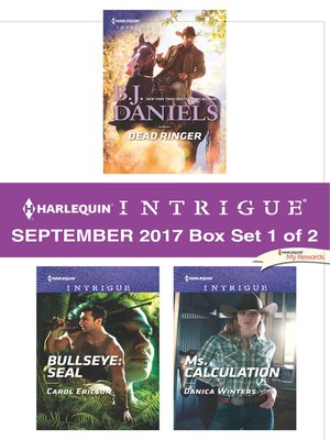 cover image of Harlequin Intrigue September 2017--Box Set 1 of 2